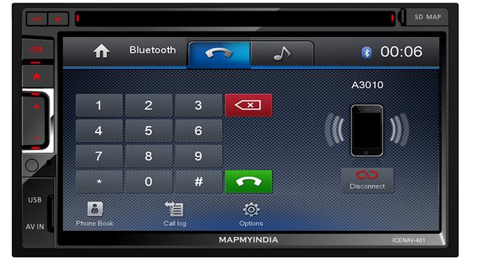 MapmyIndia- Premium In-Dash Car Entertainment Product ICENAV 401