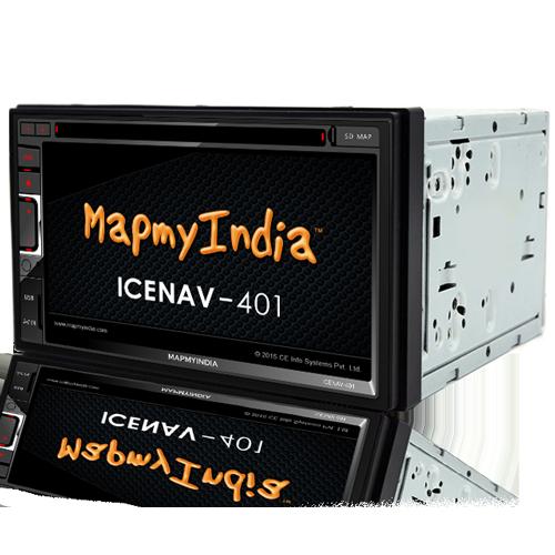 MapmyIndia- Premium In-Dash Car Entertainment Product ICENAV ... on